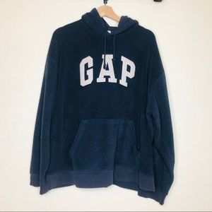 GAP Blue Pullover Hooded Sweatshirt